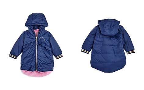Little Marc Jacobs Girls' Reversible Faux-Fur Puffer Coat - Baby - Bloomingdale's_2