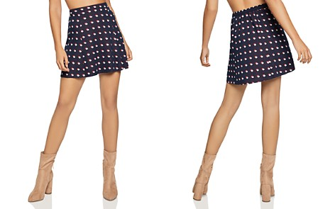 BCBGeneration Double Dot Mini Skirt - Bloomingdale's_2
