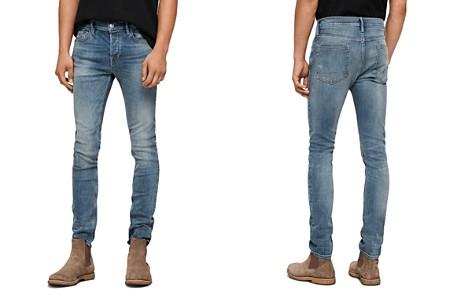 ALLSAINTS Cigarette Skinny Jeans in Mid Indigo - Bloomingdale's_2