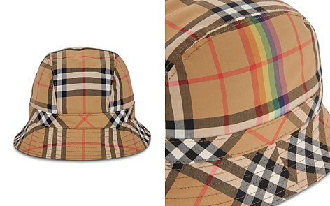 Burberry Rainbow Check Bucket Hat - Bloomingdale's_2