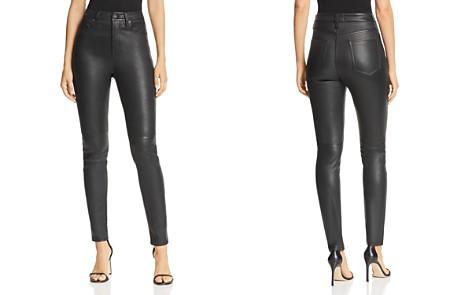 Equipment Skinny Leather Pants - Bloomingdale's_2