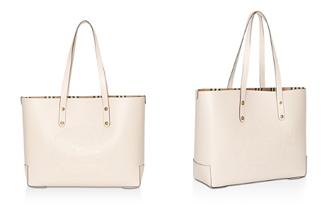 Burberry Small Embossed Crest Leather Tote - Bloomingdale's_2