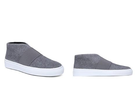 Via Spiga Women's Sayer Round Toe Wool Slip-On Sneakers - Bloomingdale's_2