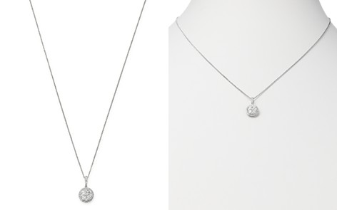 Bloomingdale's Diamond Pendant Necklace in 14K White Gold, 0.55 ct. t.w. - 100% Exclusive_2