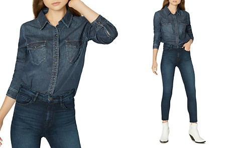 Sanctuary Snap-Front Work Shirt - Bloomingdale's_2