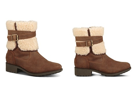 UGG® Women's Blayre Round Toe Leather Boots - Bloomingdale's_2