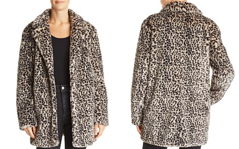 AQUA Leopard Print Faux Fur Jacket - 100% Exclusive - Bloomingdale's_2