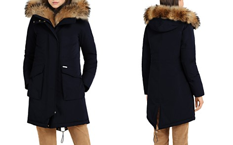 WOOLRICH JOHN RICH & BROS Military Fur Trim Parka - Bloomingdale's_2