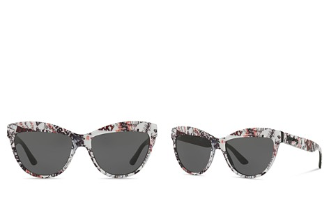 Burberry Graffiti Cat Eye Sunglasses, 56mm - Bloomingdale's_2
