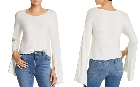 Ramy Brook Audrina Flare Sleeve Sweater - Bloomingdale's_2