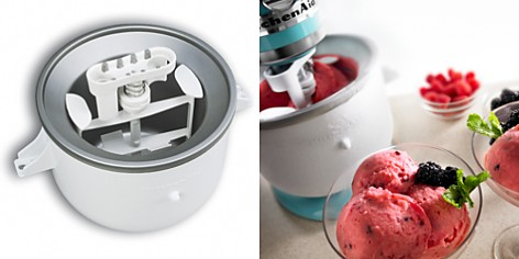 KitchenAid KICA Ice Cream Attachment #KICA0WH - Bloomingdale's_2