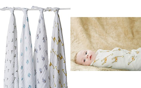 Aden and Anais Jungle Jam Swaddles - Pack of 4 - Bloomingdale's_2