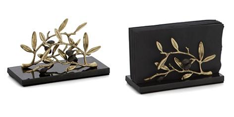 Michael Aram Olive Branch Gold Vertical Napkin Holder - Bloomingdale's Registry_2
