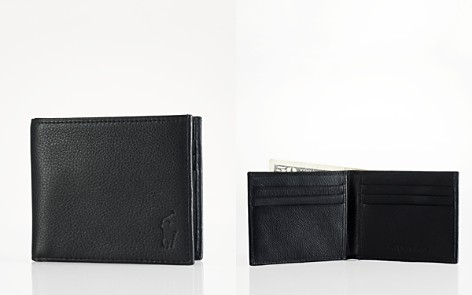 Polo Ralph Lauren Pebbled Leather Billfold Wallet - Bloomingdale's_2
