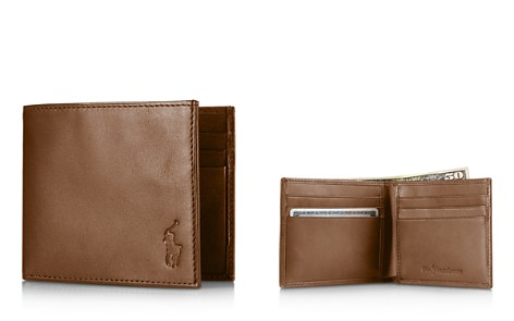 Polo Ralph Lauren Burnished Leather Billfold Wallet - Bloomingdale's_2