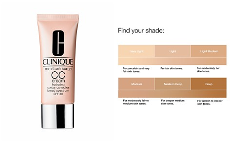 Clinique Moisture Surge CC Cream Hydrating Color Corrector SPF 30 - Bloomingdale's_2
