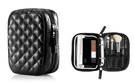 Trish McEvoy Deluxe Makeup Planner®, Classic Black Quilted Petite - Bloomingdale's_2