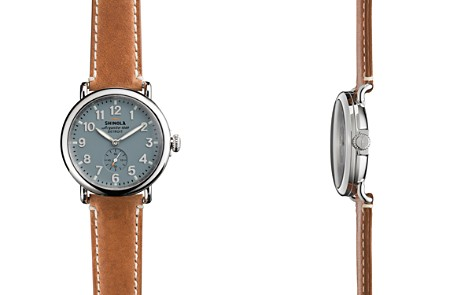Shinola The Runwell Brown Strap Watch, 41mm - Bloomingdale's_2