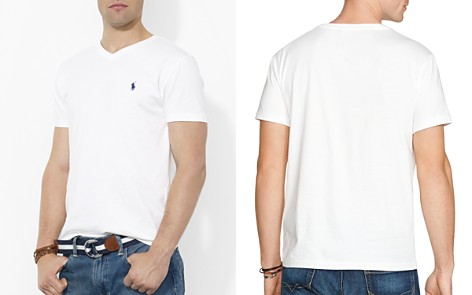Polo Ralph Lauren Cotton V Neck Tee - Bloomingdale's_2