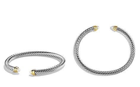 David Yurman Cable Classics Bracelet with Pearls and Gold - Bloomingdale's_2