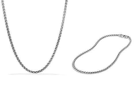 "David Yurman Small Wheat Chain Necklace, 16"" - Bloomingdale's_2"