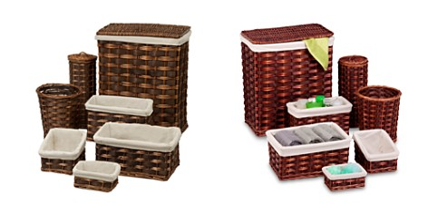 Honey Can Do 7-Piece Wicker Hamper & Bath Set - Bloomingdale's Registry_2