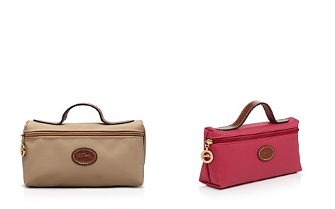 Longchamp Le Pliage Cosmetics Case - Bloomingdale's_2