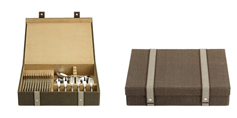 Reed & Barton Brown Woven Silverware Chest - Bloomingdale's Registry_2