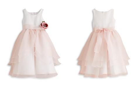 US Angels Girls' Organza Flower Girl Dress - Little Kid - Bloomingdale's_2