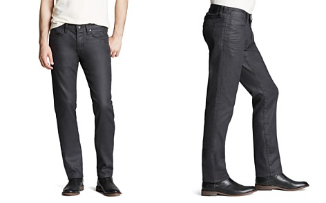 John Varvatos USA Jeans - Bowery Slim Straight Fit in Graphite - Bloomingdale's_2