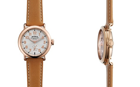 Shinola The Runwell Tan Leather Strap Watch, 36mm - Bloomingdale's_2