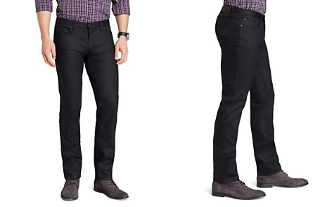 HUGO Jeans - 708 Slim Fit in Black - Bloomingdale's_2