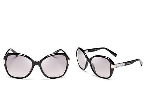 Jimmy Choo Alana Oversized Sunglasses, 57mm - Bloomingdale's_2