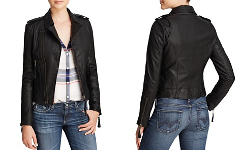 Joie Jacket - Ailey Leather Moto - Bloomingdale's_2