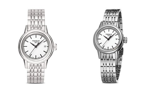 Tissot Stainless Steel Carson Watch, 29.5mm - Bloomingdale's_2