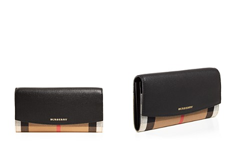 Burberry House Check Porter Leather Wallet - Bloomingdale's_2