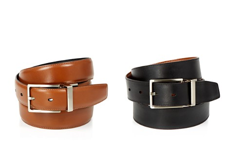 The Men's Store at Bloomingdale's Amigo Reversible Leather Belt - 100% Exclusive_2