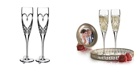 Waterford True Love Flute, Set of 2 - Bloomingdale's_2