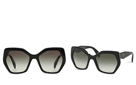 Prada Women's Oversized Geometric Sunglasses, 56mm - Bloomingdale's_2