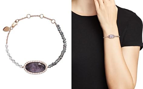 Meira T 14K Rose Gold Rough Amethyst Beaded Bracelet with Diamonds - Bloomingdale's_2