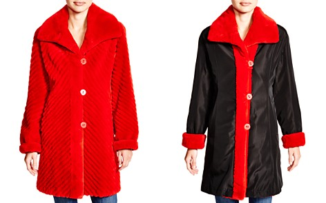 Maximilian Sheared Beaver Reversible Coat - 100% Exclusive - Bloomingdale's_2
