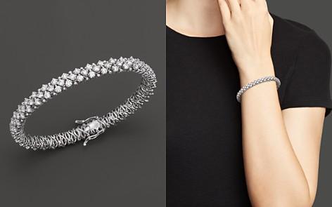 Certified Diamond Bracelet in 14K White Gold, 5.50 ct. t.w. - 100% Exclusive - Bloomingdale's_2