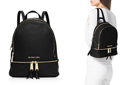 MICHAEL Michael Kors Rhea Zip Small Leather Backpack - Bloomingdale's_2