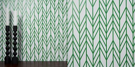 Chasing Paper Herringbone Removable Wallpaper - Bloomingdale's_2