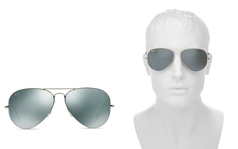 Ray-Ban Unisex Mirrored Aviator Sunglasses, 62mm - Bloomingdale's_2