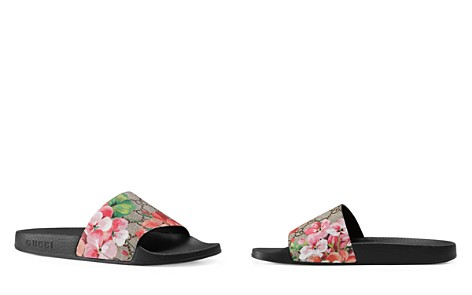 Gucci Women's Pool Slide Sandals - Bloomingdale's_2