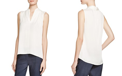 Elie Tahari Judith Stretch Silk Blouse - Bloomingdale's_2
