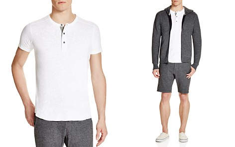 Wings + Horns Slub Short Sleeve Henley - Bloomingdale's_2