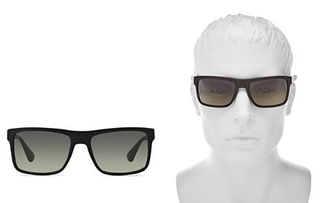Prada Men's Rectangle Sunglasses, 57mm - Bloomingdale's_2