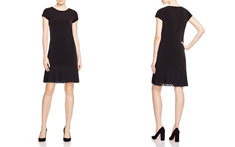 MICHAEL Michael Kors Pleat Hem Shift Dress - Bloomingdale's_2